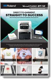 Roland VersaStudio BT-12 Brochure