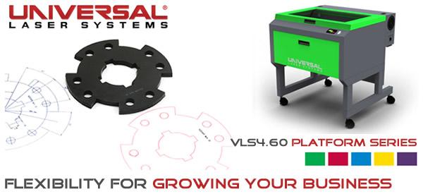 Universal Laser Vls4 60 Laser System
